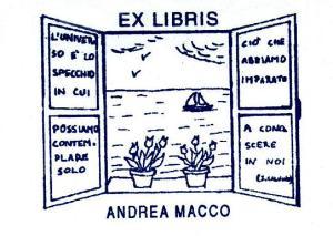 Timbro Ex Libris della mia biblioteca