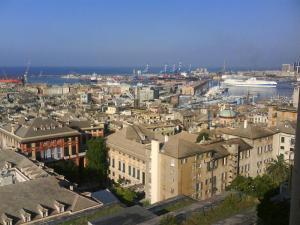 Genova, Superba, da Spianata Castelletto - Foto Andrea Macco