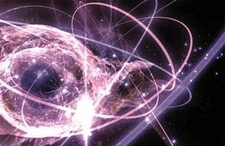 il mondo delle particelle, a volte caotico come quello dell'amore...