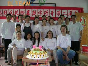 Lo staff di Medici Senza Frontiere in Cina