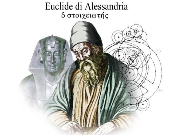 """Euclide di Alessandria, uno degli """"scribani della Matematica"""" - Il suo libro """"Gli Elementi"""" è secondo solo alla Bibbia come diffusione nel mondo"""
