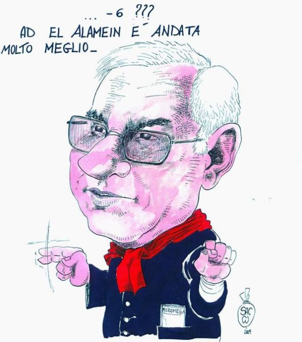 caricatura di Don Farinella