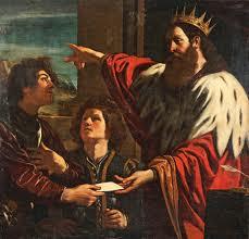 il re congeda il matematico