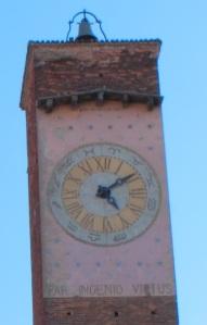 Torre Medievale Pavia con Motto