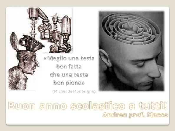 Buon anno scolastico - Andrea Macco
