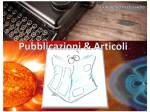 Banner Pubblicazioni&Articoli