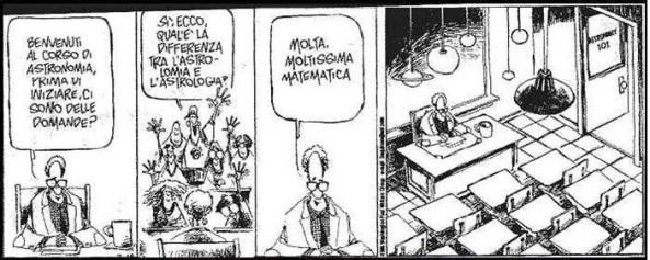 vignetta astrologia vs asronomia