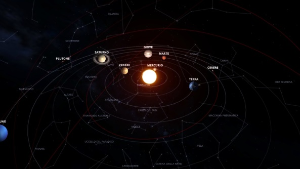Immagine scope - solar system