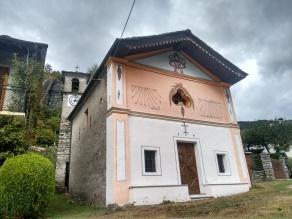 Chiampernotto - cappella della Madonna della neve (1759)