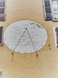 la meridiana universale fotografata da Andrea Macco nel 2016