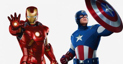 capitan america & iron man